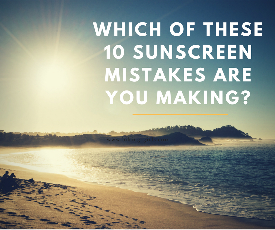 Which Of These 10 Sunscreen Mistakes Are You Making?